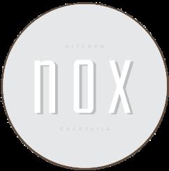 NOX Kitchen and Cocktails Logo