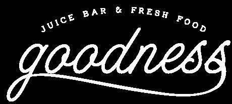 Goodness Juice Bar and Fresh Food Logo