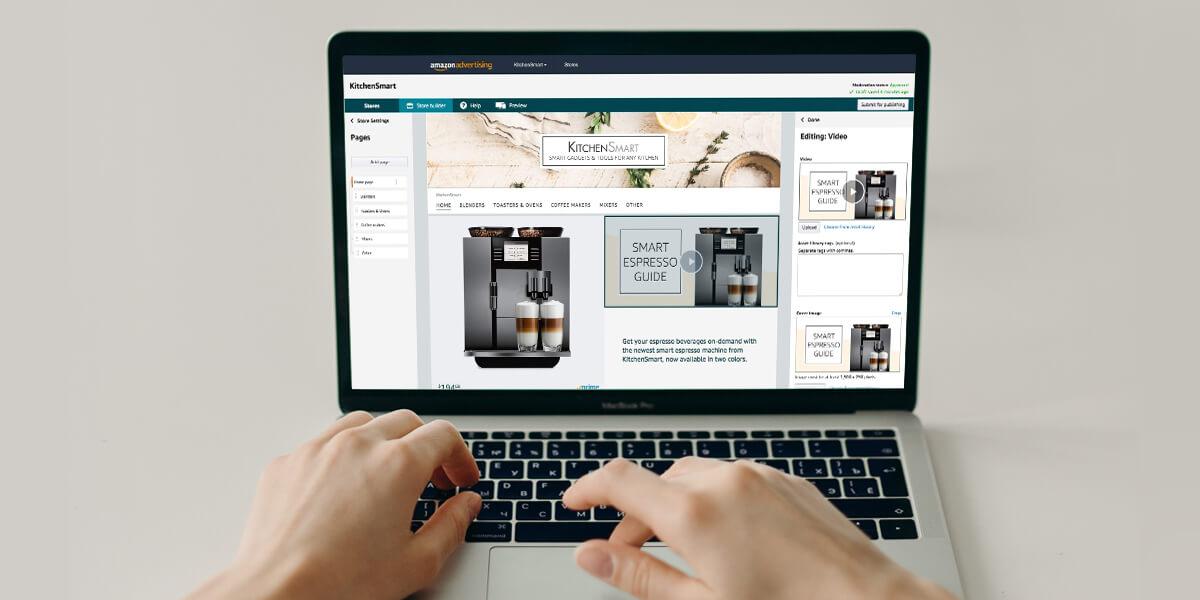 Amazon Brand Registry Storefronts